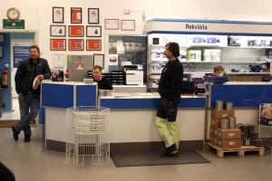Butikken vår